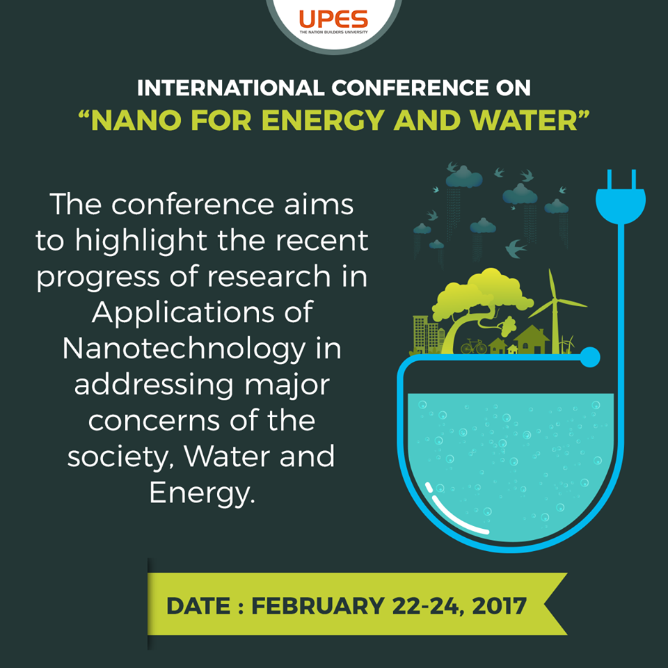 upes nano technology conference