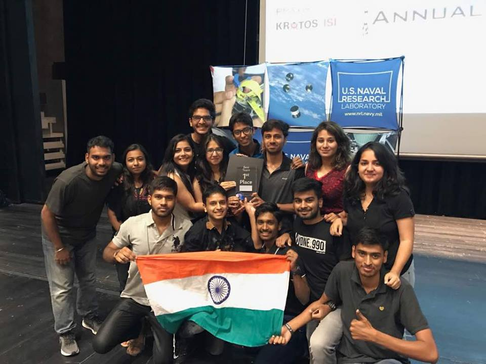 Team Astral UPES at CanSat 2017